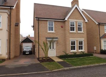 Thumbnail 3 bed detached house for sale in Maunder Avenue, Biggleswade, Bedfordshire