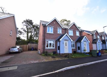 Thumbnail 2 bedroom semi-detached house for sale in Plas Y Coed, Bangor