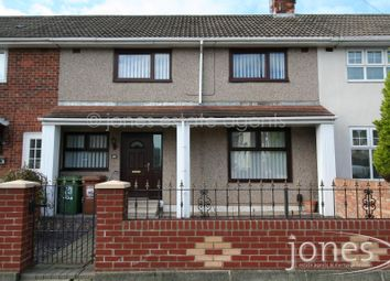 Thumbnail 3 bed terraced house to rent in Maxwell Road, Hartlepool