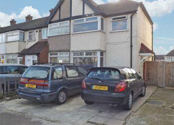 Thumbnail 3 bedroom end terrace house for sale in School Road, Dagenham, Essex