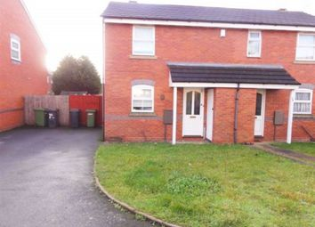 Thumbnail 1 bed semi-detached house to rent in Mickley Avenue, Wolverhampton