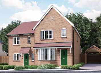 Thumbnail 3 bed semi-detached house for sale in The Grange High Street, Tetsworth, Thame
