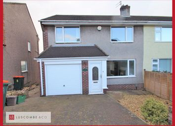 Thumbnail 3 bed semi-detached house to rent in Glanmor Crescent, Newport
