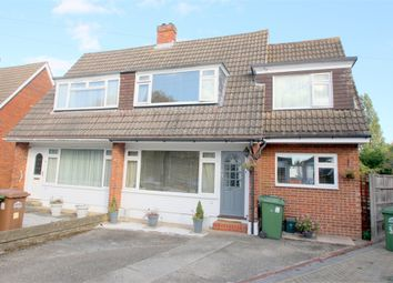 Thumbnail 3 bed semi-detached house for sale in The Glade, Staines-Upon-Thames, Surrey
