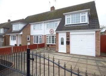 Thumbnail 3 bed semi-detached house for sale in Northumberland Road, Wigston, Leicester, Leicestershire