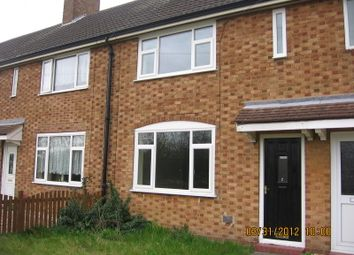 Thumbnail 2 bed terraced house to rent in Willow Crescent, Auckley