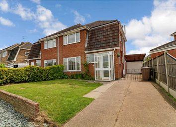 Thumbnail 3 bed semi-detached house for sale in Rowan Road, Waddington, Waddington, Lincoln