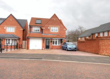 Thumbnail 3 bed detached house for sale in Old School Drive, Newcastle Upon Tyne