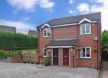 Thumbnail 2 bed semi-detached house for sale in 13, Poolfields Court, Brown Edge, Stoke-On-Trent, Staffordshire