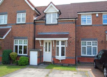 Thumbnail 2 bed terraced house to rent in Wooliscroft Close, Shipley View, Ilkeston, Derbyshire