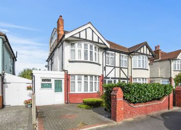 Thumbnail 5 bed semi-detached house for sale in Tolworth Rise North, Tolworth, Surbiton