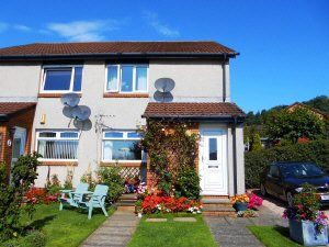 Thumbnail 1 bed flat to rent in Morlich Crescent, Dalgety Bay, Dunfermline