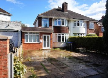 Thumbnail 3 bed semi-detached house for sale in Carter Road, Birmingham