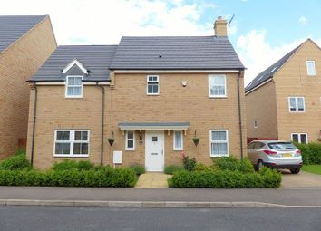 Thumbnail 4 bed detached house for sale in Shackleton Way, Yaxley, Peterborough, Cambridgeshire.