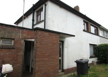 Thumbnail 3 bed semi-detached house for sale in Heol Penlan, Longford, Neath, West Glamorgan