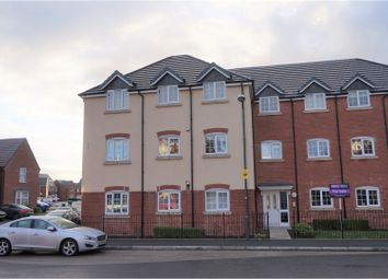 Thumbnail 2 bed flat for sale in Poplar Close, Shrewsbury