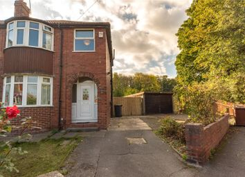 Thumbnail 3 bedroom semi-detached house for sale in Hollin Park Mount, Leeds, West Yorkshire
