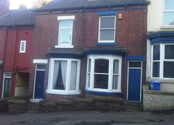 Thumbnail 3 bedroom terraced house to rent in Fulmer Road, Hunters Bar, Sheffield