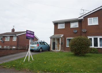 Thumbnail 3 bed semi-detached house for sale in St. Andrews Road, Colwyn Bay