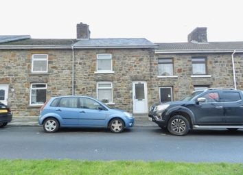 Thumbnail 2 bed terraced house to rent in Park Terrace, Tondu, Bridgend
