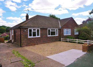 Thumbnail 2 bed semi-detached bungalow to rent in Burnham Close, Knaphill, Woking