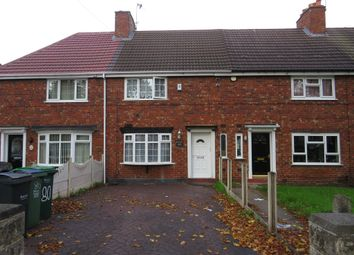 Thumbnail 3 bedroom terraced house for sale in Carrington Road, Wednesbury