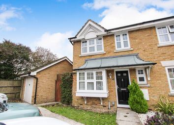Thumbnail 3 bed end terrace house for sale in Barons Mead, Maybush, Southampton