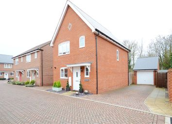 Thumbnail 3 bedroom link-detached house for sale in Roe Gardens, Three Mile Cross, Reading
