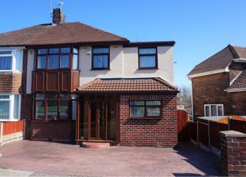 Thumbnail 4 bedroom semi-detached house for sale in Bentham Drive, Liverpool