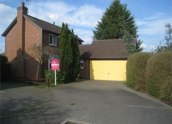 Thumbnail 4 bed detached house for sale in Walker Close, Broughton Astley, Leicester