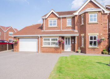 Thumbnail 4 bedroom detached house for sale in Hawthorne Way, Althorpe, Scunthorpe