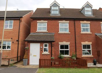 Thumbnail 3 bed semi-detached house for sale in Snape Close, Hamilton