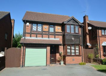 Thumbnail 4 bed detached house for sale in Janes Way, Markfield