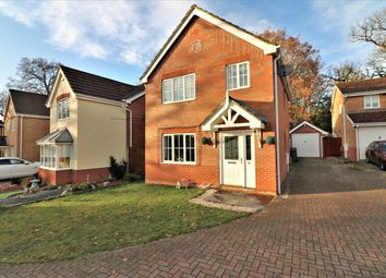 Thumbnail 3 bed detached house for sale in Byron Avenue, Dereham