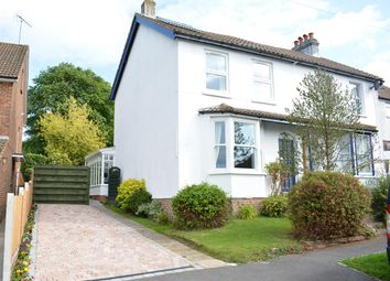 Thumbnail 3 bed semi-detached house for sale in Rosebery Road, Epsom