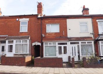 Thumbnail 2 bedroom terraced house for sale in Milner Road, Birmingham, West Midlands