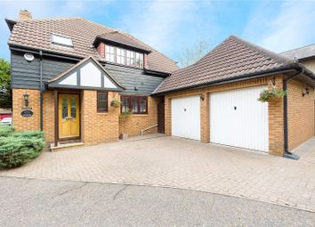 Thumbnail 4 bed detached house for sale in The Firs, Ongar Road, Pilgrims Hatch, Brentwood