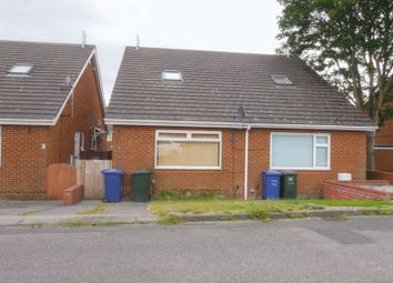 Thumbnail 1 bed semi-detached bungalow for sale in Marsham Close, Newcastle Upon Tyne