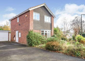 Thumbnail 3 bed detached house for sale in Edward Road, Perton, Wolverhampton, West Midlands