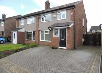 Thumbnail 3 bed semi-detached house for sale in Beaumaris Crescent, Hazel Grove, Stockport