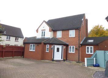 Thumbnail 4 bed detached house for sale in Gascoigne, Werrington, Peterborough
