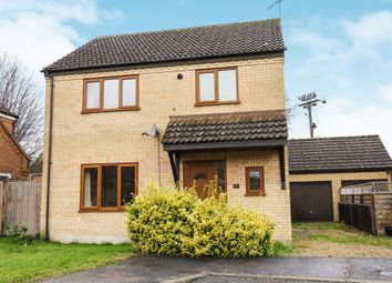 Thumbnail 3 bed detached house for sale in Hereward Way, Feltwell, Thetford
