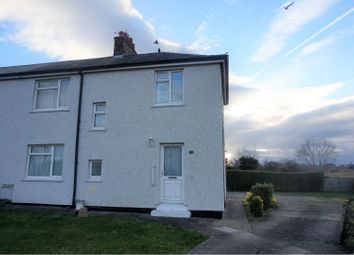 Thumbnail 3 bed semi-detached house to rent in Nant Y Gaer Road, Wrexham