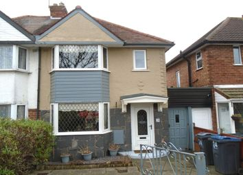 Thumbnail 3 bedroom semi-detached house for sale in Benedon Road, Sheldon, Birmingham