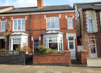 Thumbnail 4 bed end terrace house for sale in Knighton Church Road, South Knighton, Leicester