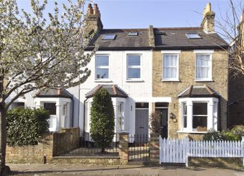 Thumbnail 3 bed terraced house for sale in Campbell Road, Twickenham, Middlesex