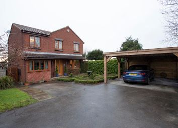 Thumbnail 4 bed detached house for sale in Harvest Road, Macclesfield, Cheshire