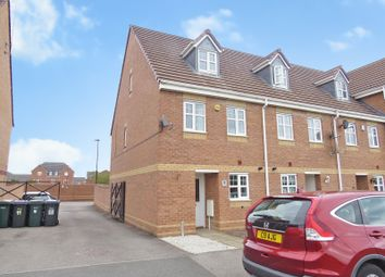 Thumbnail 3 bed town house for sale in Highley Drive, Daimler Green, Coventry