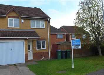 Thumbnail 3 bed property to rent in Keyte Close, Tipton