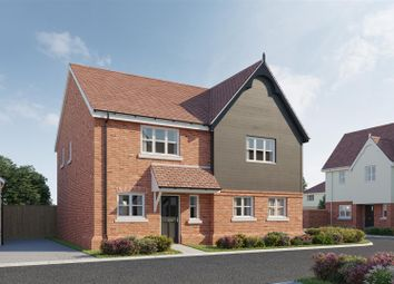 Thumbnail 2 bed semi-detached house for sale in The Primrose, Plot 37, Latchingdon Park, Latchingdon, Essex